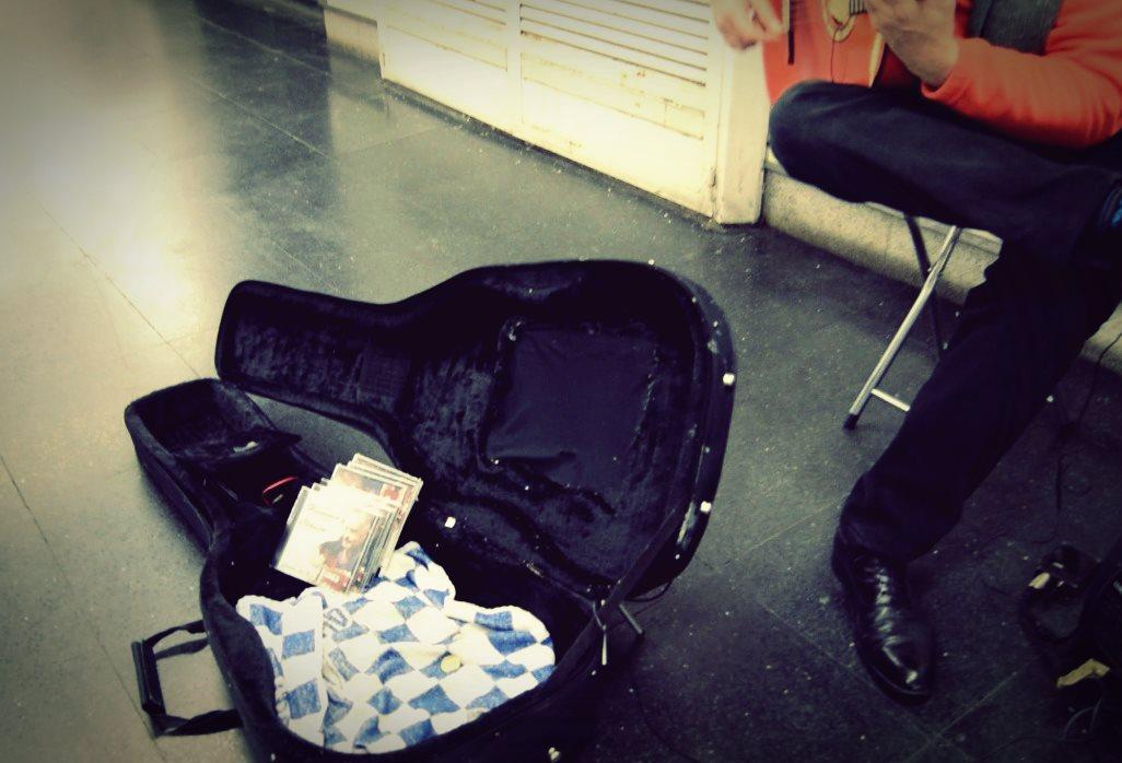 Música callejera Le Miau Noir