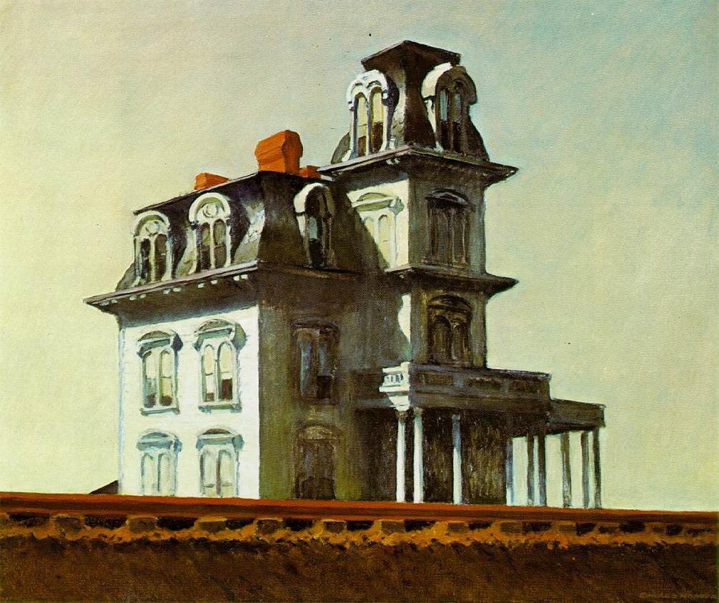 casa gótica hopper