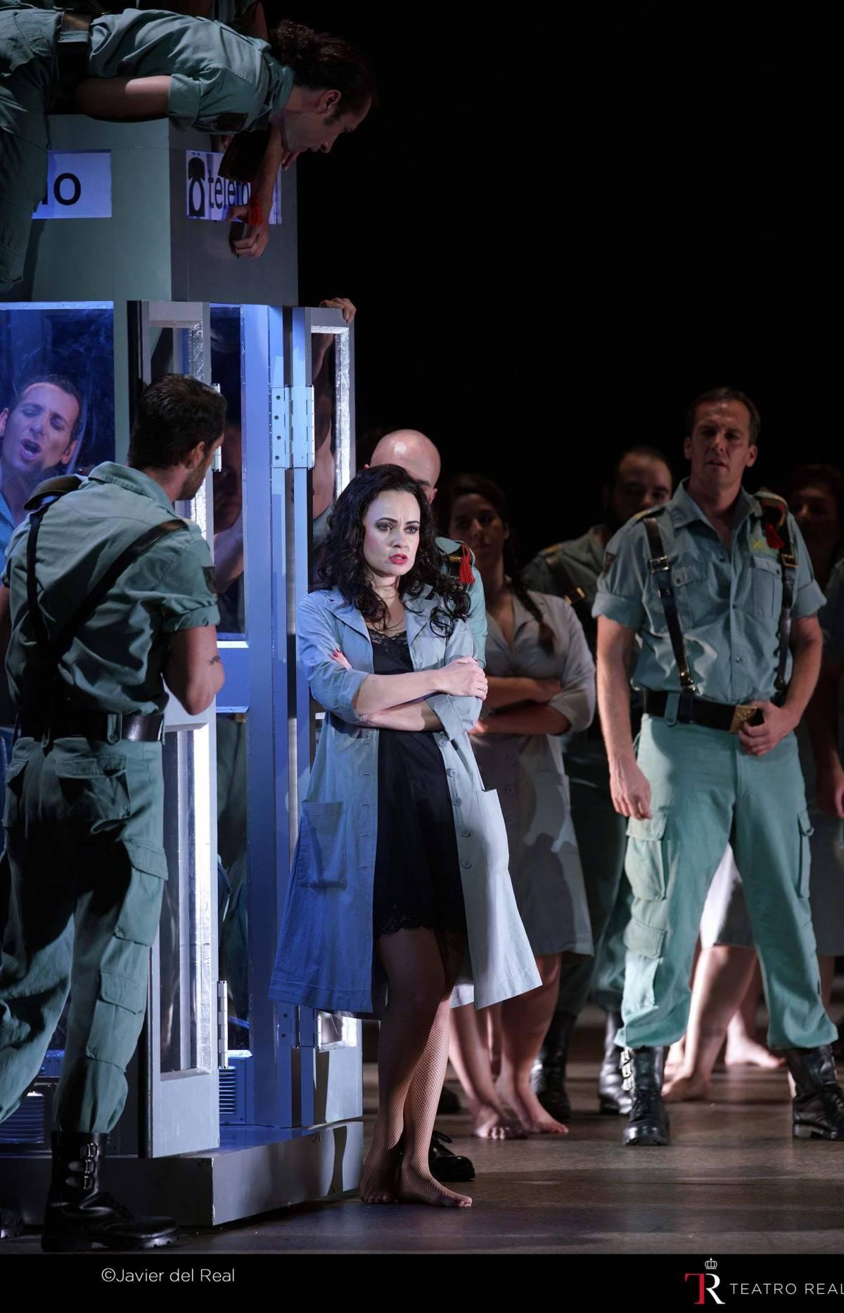 ópera Carmen en Teatro Real