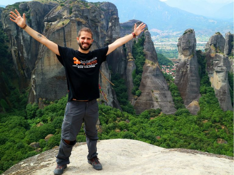Inteligencia Viajera y Antonio G. en Grecia