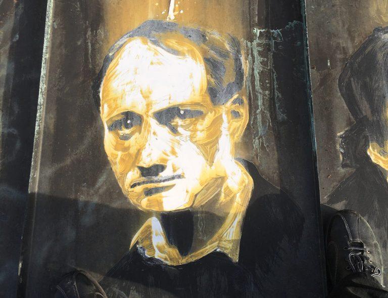 Baudelaires retrato con ácido