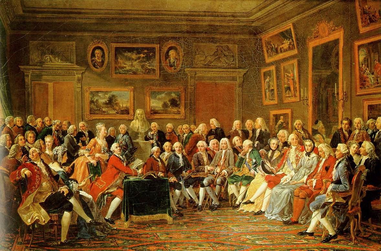 Salón de la salonnières Madame Geoffrin