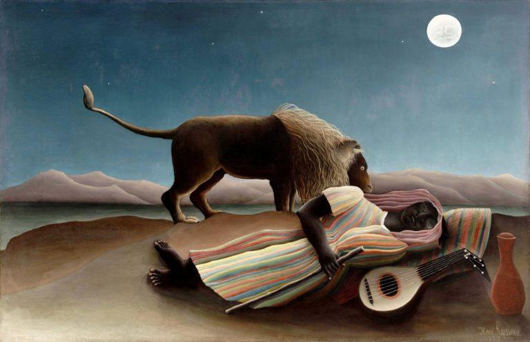 La Gitana Dormida de Henri Rousseau.