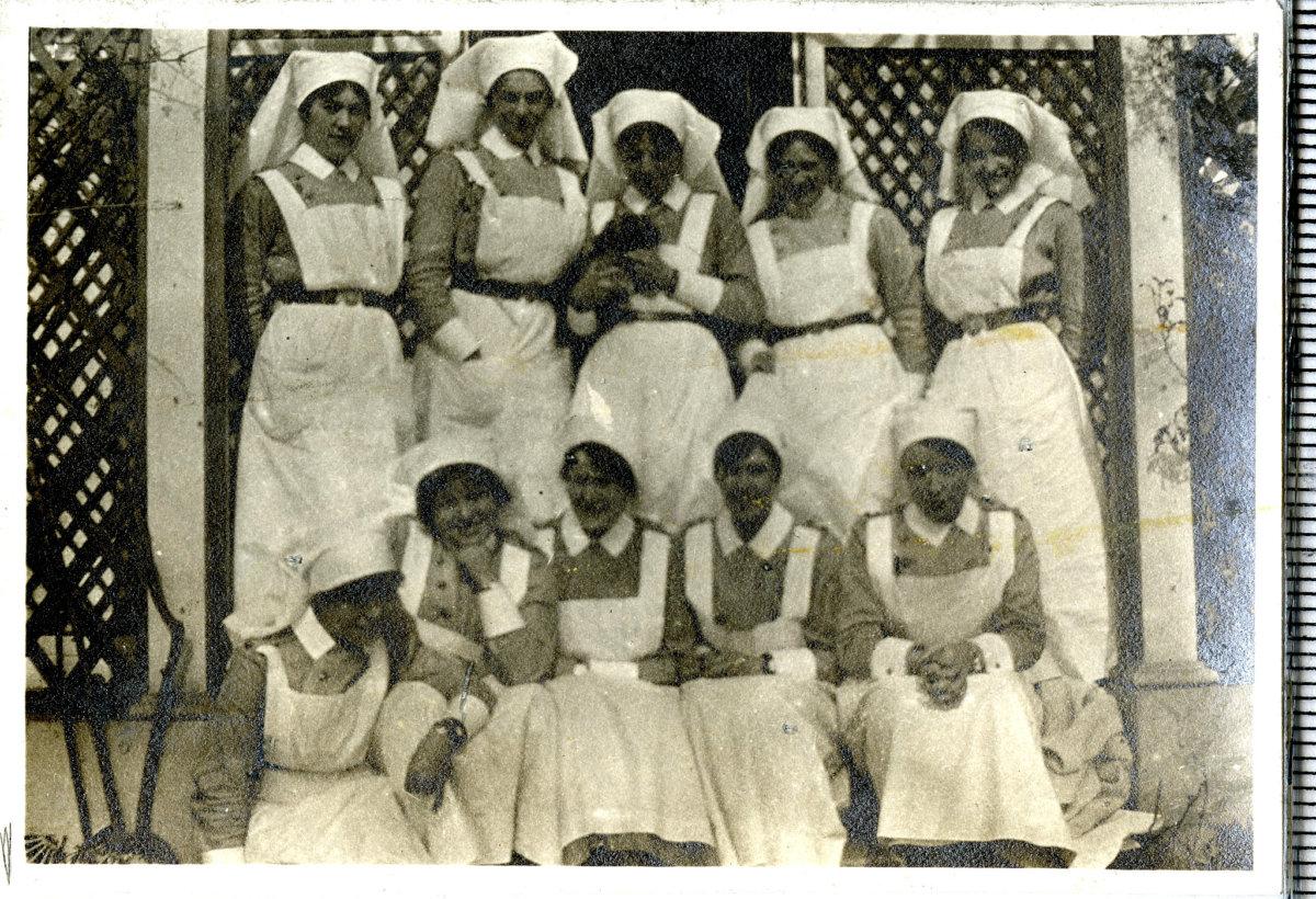 Grupo de enfermeras inglesas | Fuente: Flickr.com